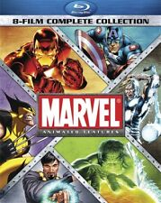 MARVEL ANIMATED FEATURES 8 FILM COMPLETE COLLECTION New Blu-ray Avenges Hulk