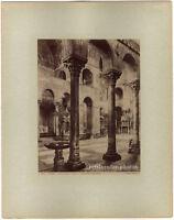 Venedig, Chiesa San Marco, Naya, Original Albumin-Photo, ca 1880