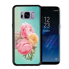 Vintage Vase With Flowers For Samsung Galaxy S8 2017 Case Cover by Atomic Market