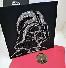 PAPYRUS Darth VADER Star Wars Happy Birthday Disney Greeting Card Gift Sequins