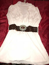 NAUGHTY SEXY WOMAN HALLOWEEN COSPLAY COSTUME WONDER WOMAN WHITE AMAZONIAN DRESS
