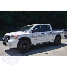 Fit 2004-2014 2015 Nissan Titan Crew Cab Window Visors Vent Rain Deflector