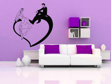 Wall Sticker Room Decal Wedding Couple Love Romance Bride Groom Marriage bo2546
