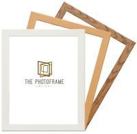 Picture Frames  Photo Frames  Poster Frames Oak, Dark Oak & White A1 A2 A3 A4 A5