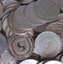12 x 5 DM Kursmünzen zum Sammeln oder für alte Automaten, Geldspielgeräte, usw.