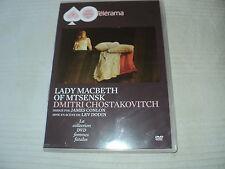 "2 DVD ""LADY MACBETH OF MTSENSK"" opera de Chostakovitch dirigé par James CONLON"