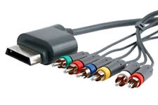 HD TV Component Composite Audio Video AV Cable for Xbox 360