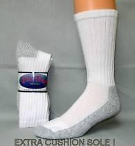 Womens Heavy Duty Steel Toe Boot Socks 9-11   2 Pair