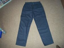 "BHS Cotton Trousers Waist 32"" Leg 31"" Blue Mens Trousers"