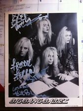 very rare autographed KERI KELLI/BIG BANG BABIES band promo photo
