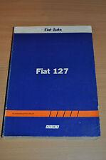 Werkstatthandbuch Kundendiensthandbuch FIAT 127 Technische Daten Allgemein 1982