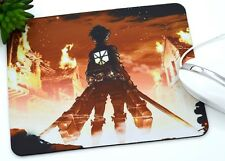 New Anime Attack on Titan Mouse Pad, Hollow Slim Square Mat Mousepad For PC