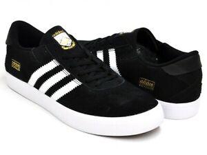 Adidas Skateboarding Gonz Pros Skate Shoes Black/White Q33324 Men's Size 7.5~12