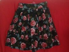 Review Cotton Blend Regular Floral Skirts for Women