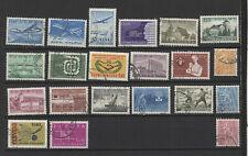 Finlande Suomi années 60 20 timbres oblitérés /T2289