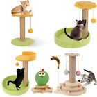 Cat Activity Tree Pet Climber Play Center Scratching Posts Track Tower Ball Toy