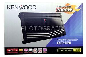 Kenwood KAC-9106D Sports Series Class D Mono Power Amplifier