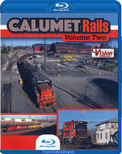 Calumet Rails Volume 2 BLU-RAY NEW CVision IL IN Indiana Harbor Tower Grasselli