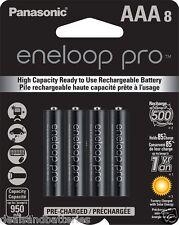 Panasonic Eneloop Pro AAA NiMH 950mAh Rechageable Batteries 8 Pack