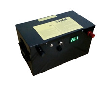 Lithium 24V 100Ah Deep Cycle Battery with Home Charger BMS Solar RV
