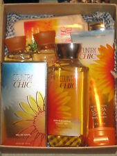 BATH AND & BODY WORKS COUNTRY CHIC multiple items linen box women's gift set NWT