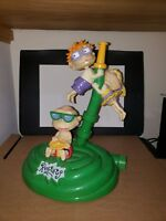 "Rugrats Nickelodeon Cartoon 11"" Figural Moving Lawn Sprinkler 1998 Used"