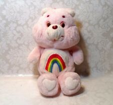 Vintage 1983 Kenner AGC Care Bears CHEER BEAR Pink Plush