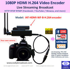 Portable Camera-top WiFi HDMI H.264 encode RTMP Facebook YouTube live streaming