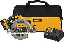 "DEWALT DCS570P1 7-1/4"" 184mm 20V Cordless Circular Saw with Brake Kit"
