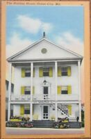 Ocean City, MD 1940s Linen Postcard: The Holiday House - Maryland