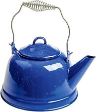 OZtrail Outdoor Cooking Enamel Tea Pot Kettle Camping Cookware