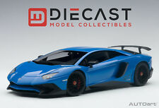 AUTOart 74559 Lamborghini Aventador LP750-4 Sv Bleu 1: 18TH Echelle