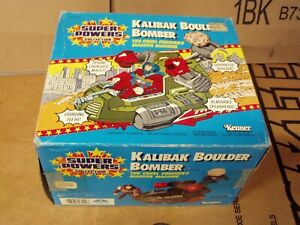 "Super Powers Kalibak Boulder Bomber 9"" Vehicle RARE!"