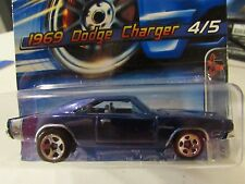 Hot Wheels 1969 Dodge Charger #104 Muscle Mania! Blue 5sp