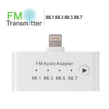 P94 3in1 FM Transmitter Light ning zu 3.5mm aux Buchse 8pin Buchse iPhone iPad