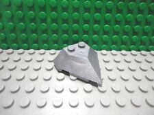 Lego 1 Flat Silver 4x4 pointed wedge plane train New