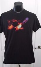 Disney World Mickey Mouse with Guitar Black T Shirt XL Retro Rare Disneyland