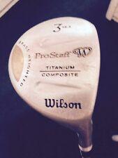 Wilson Ladies Flex ProStaff 3 Wood 16.5* Titanium Composite Brass Weighted RH