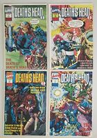 DEATH'S HEAD II FOUR PART SERIES ISSUES #1 #2 #3 #4 MARVEL COMICS 1992