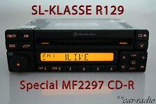 MERCEDES Autoradio Originale SPECIAL mf2297 SL-classe r129 w129 CD-R Speciale RDS