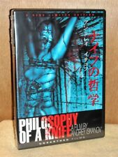 Philosophy of a Knife (DVD, 2008, 2-Disc Set Limited Edition) NEW Andrey Iskanov