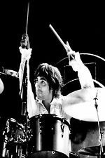 SUPERB KEITH MOON THE WHO CANVAS #9 MODS DRUMMING A1 A3 PICTURE FREE P&P