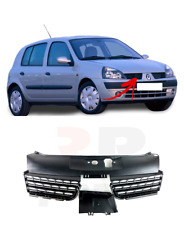 RENAULT TWINGO 2012-2014 FRONT BUMPER CENTER RADIATOR GRILL GRILLE BLACK NEW