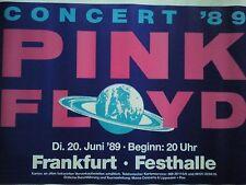 PINK FLOYD     1989     FRANKFURT   orig. Concert Poster  Din A1  84 X 60  cm