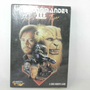 Wing Commander III Heart of Tiger PC Big Box Game 1994 Origin ** Empty Box Only