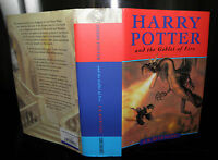 Harry Potter and the Goblet Of Fire, J.K Rowling HB, 2000 1st/1st - Ted Smart