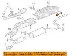 HONDA OEM Exhaust-Muffler & Pipe Rubber Mount 18215SHJA01