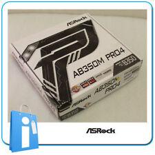 Placa base mATX Ryzen B350 ASRock AB350M PRO4 Socket AM4 con Accesorios