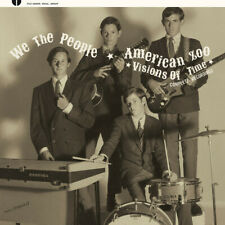 WE THE PEOPLE / AMERICAN ZOO Visions Of Time vinyl LP garage punk psych
