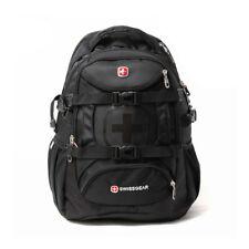 Swiss Shoulder Bag Men Women Backpack Leisure Travel Bag School Bag Black